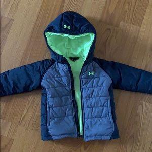 Toddler Boy Under Armour Coat